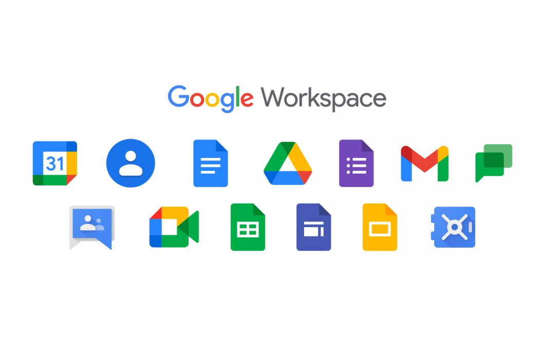 Workshop – G-suite (Google Workspace)| Alle leeftijden
